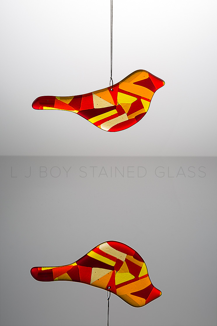 Glass art By Linda Boy
